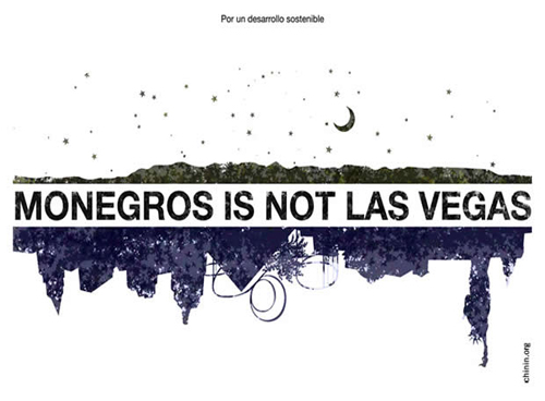 Monegros is not Las Vegas