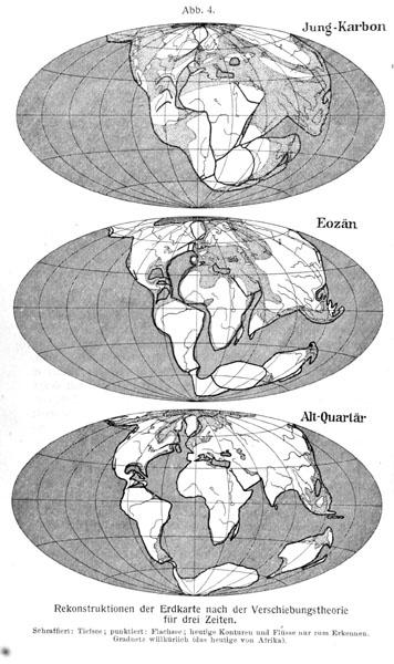Deriva continental segunWegener