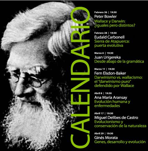 Conferencias BBVA sobre Darwin YWallace