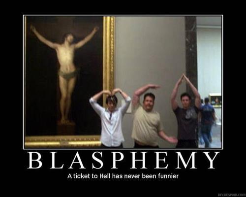 Humor gráfico sobre las religiones y dioses Blasfemia-graciosa