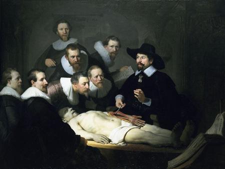Lección de Anatomia (Rembrant)
