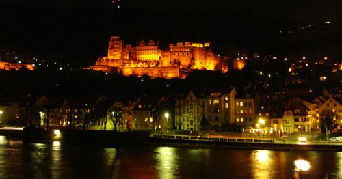Heidelberg de noche